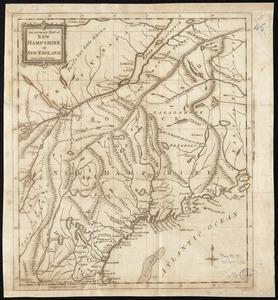 An Accurate map of New Hampshire in New England, from a late survey