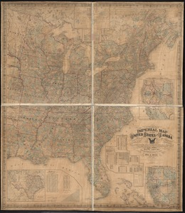 Schonberg's imperial map of the United States and Canada