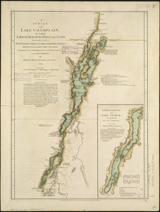 A survey of Lake Champlain, including Lake George, Crown Point, and St. John