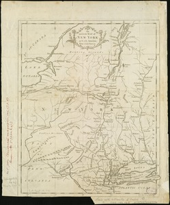 An Accurate map of New York in North America, from a late survey