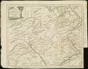 A new and accurate map of the province of Pennsylvania in North America, from the best authorities