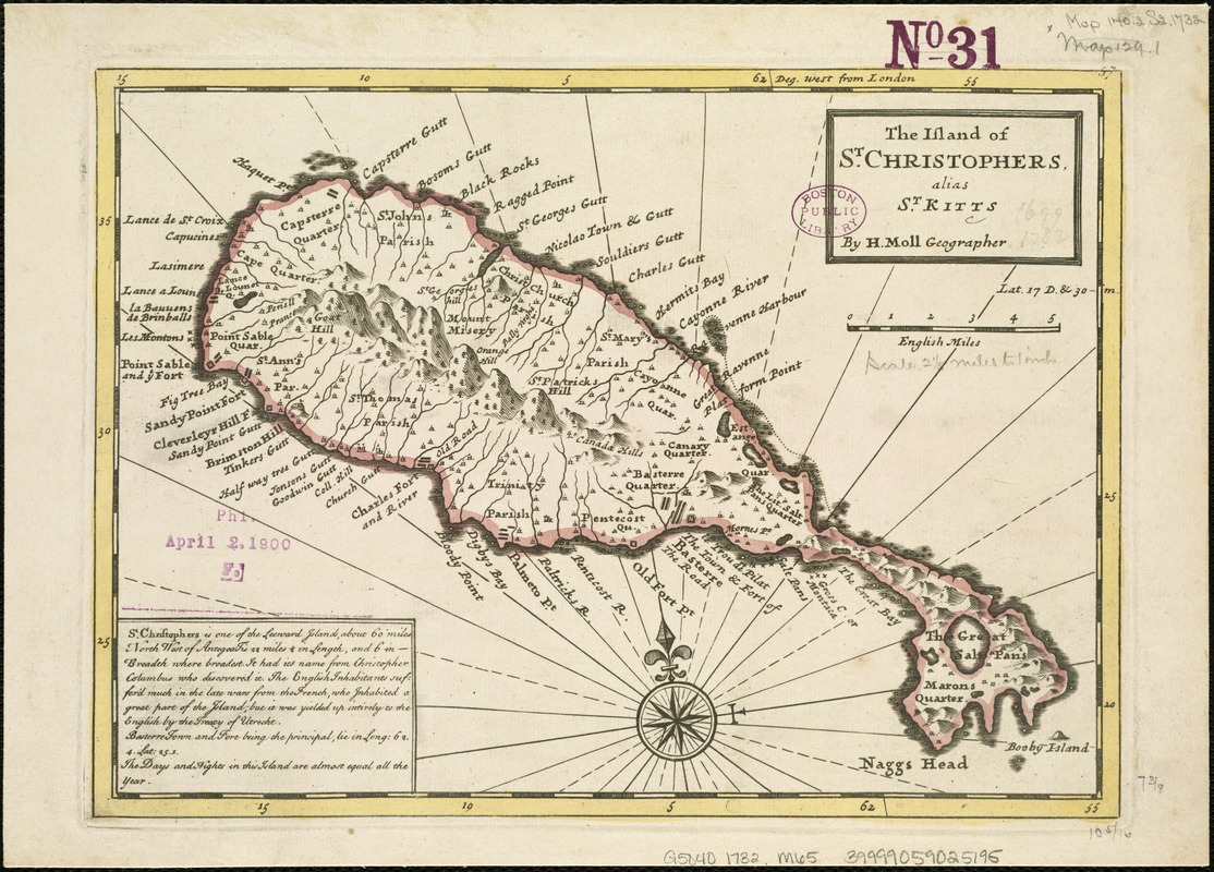 The island of St. Christophers, alias St. Kitts