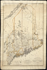 Map of the district of Maine from the latest and best authorities