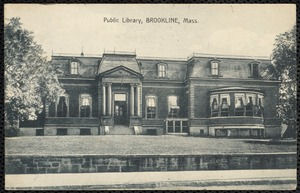 Public Library, Brookline, Mass.