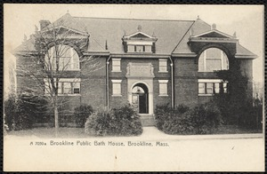 Brookline Public Bath House, Brookline, Mass.