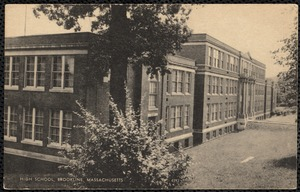High School, Brookline, Massachusetts