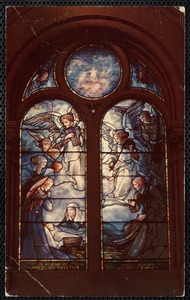 Sweetser Memorial Window, First Parish Church, Brookline, Mass.