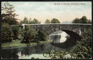 Bridge in Fenway, Brookline, Mass.