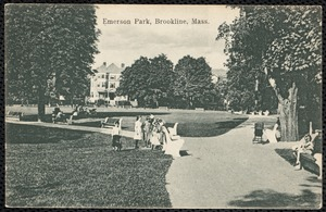 Emerson Park, Brookline, Mass.