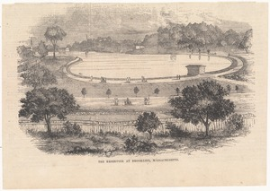 Brookline Reservoir from Gleason's Pictorial