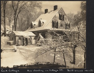 Isaac Cook cottage, Cottage St.