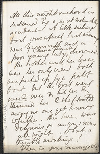 Emily Tennyson autograph letter signed (incomplete)