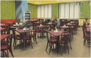 Cafeteria of the Grand Central Railroad Branch Y.M.C.A., 224 East 47th Street, New York 17, N. Y.