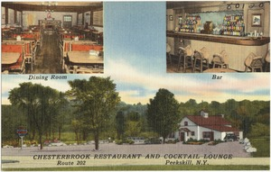 Chesterbrook Restaurant and Cocktail Lounge, Route 202, Peekskill, N. Y.