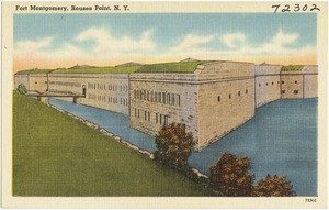 Fort Montgomery, Rouses Point, N. Y.