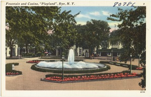 "Fountain and casino, ""Playland"", Rye, N. Y."