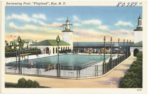 "Swimming pool, ""Playland"", Rye, N. Y."