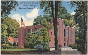 Lucy Scribner Library, Skidmore College, Saratoga Springs, N. Y.