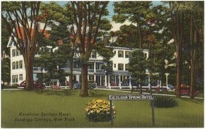 Excelsior Springs Hotel, Saratoga Springs, New York