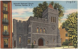 Bethesda Episcopal Church, Saratoga Springs, N. Y.