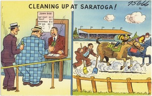 Cleaning up at Saratoga!