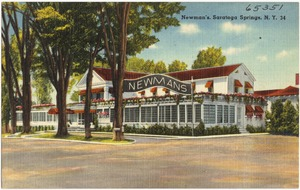 Newman's, Saratoga Springs, N. Y.
