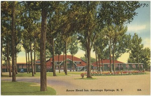Arrow Head Inn, Saratoga Springs, N. Y.