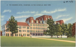 The Rexmere Hotel, Stamford, in the Catskills, New York