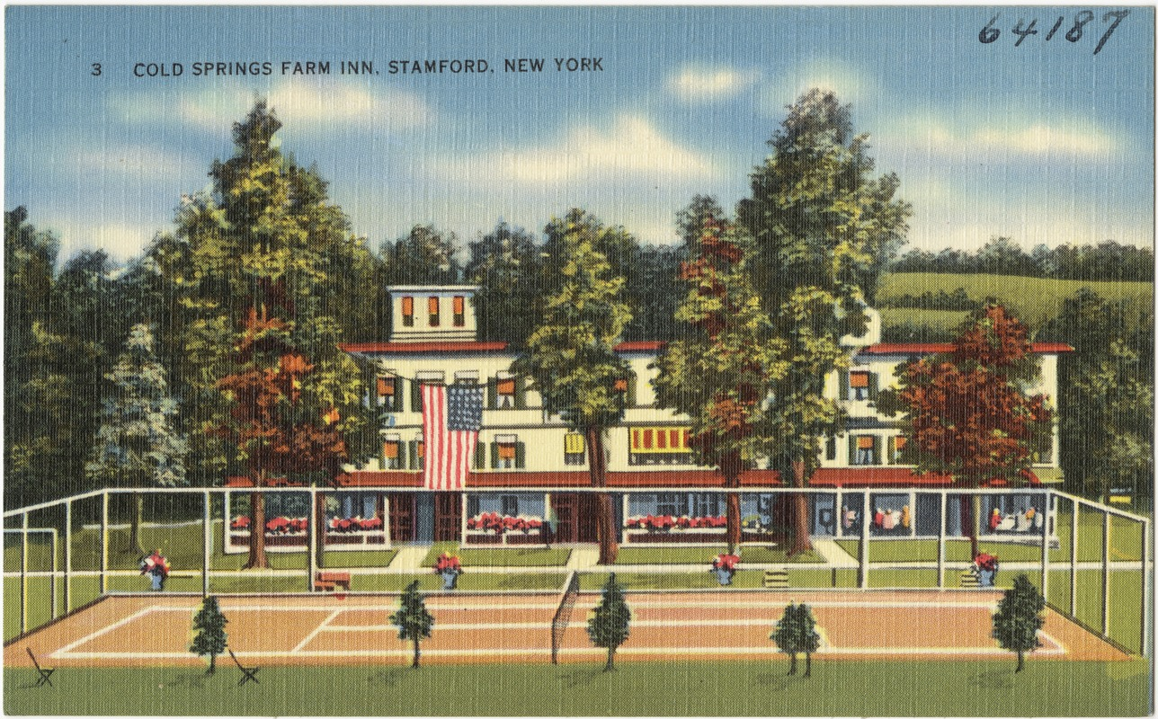 Cold Springs Farm Inn, Stamford, New York