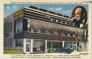 Largest and most modern authorized Buick sales and service in central New York