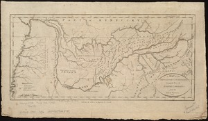 A map of the Tennassee Government formerly a part of North Carolina from the latest surveys