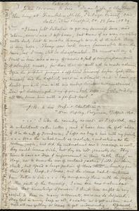Extracts from letters by John Brown copied by Samuel May, Jr.