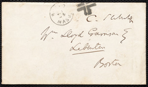 Letter from Charles Sumner, to William Lloyd Garrison, 22nd July [18]65