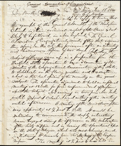 Letter from Simeon Smith Jocelyn, New Haven, to Amos Augustus Phelps, June 18th. 1840