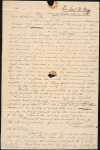 Letter from Oliver Powell, Fowlerville, to Samuel Joseph May, 1835 September 2