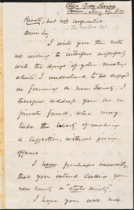 Letter from Ellis Gray Loring, Boston, to Amos Augustus Phelps, May 29 1839