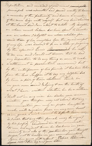 Letter from Tobias Ostrander, Lyons, to Amos Augustus Phelps, Decr 6th 1826