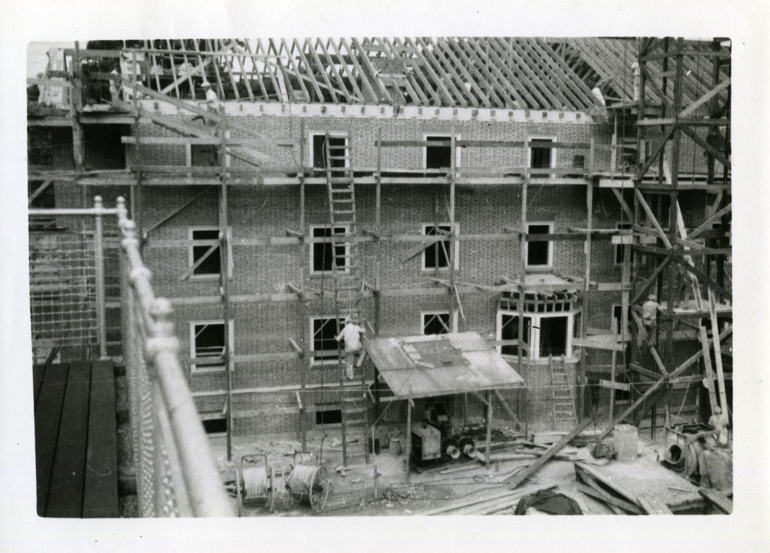 Abbey House (Abbot Academy) under construction