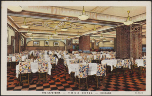 The cafeteria YMCA Hotel Chicago