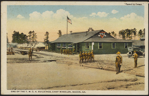 One of the Y.M.C.A. buildings, Camp Wheeler, Macon, Ga.