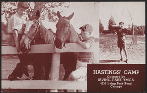 Hastings' Camp operated by Irving Park YMCA 4251 Irving Park Road Chicago