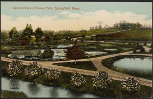 General view of Forest Park, Springfield, Mass.