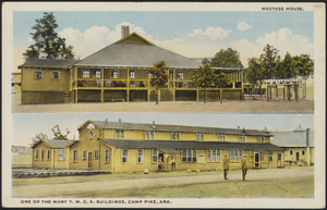One of the many Y.M.C.A. buildings, Camp Pike, Ark.