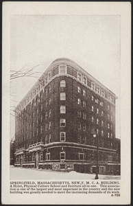 Springfield, Massachusetts, new Y.M.C.A. building