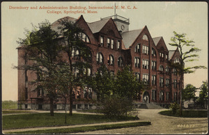 Dormitory and administration building, International Y.M.C.A. College, Springfield, Mass.