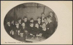 Boys' Electrical Class Y.M.C.A. Providence, R.I.