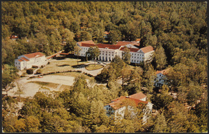 Aerial View of Blue Ridge Assembly, Black Mountain, North Carolina