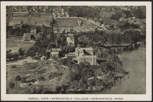 Aerial view - Springfield College - Springfield, Mass.