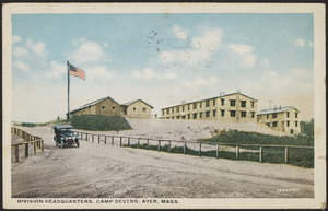 Division Headquarters, Camp Devens, Ayer, Mass.