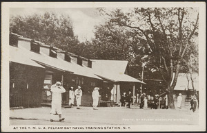 At the Y.M.C.A. Pelham Bay Naval Training Station, N. Y.